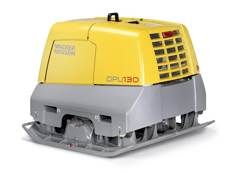 Ny maskin, världens starkaste vibratorplatta.